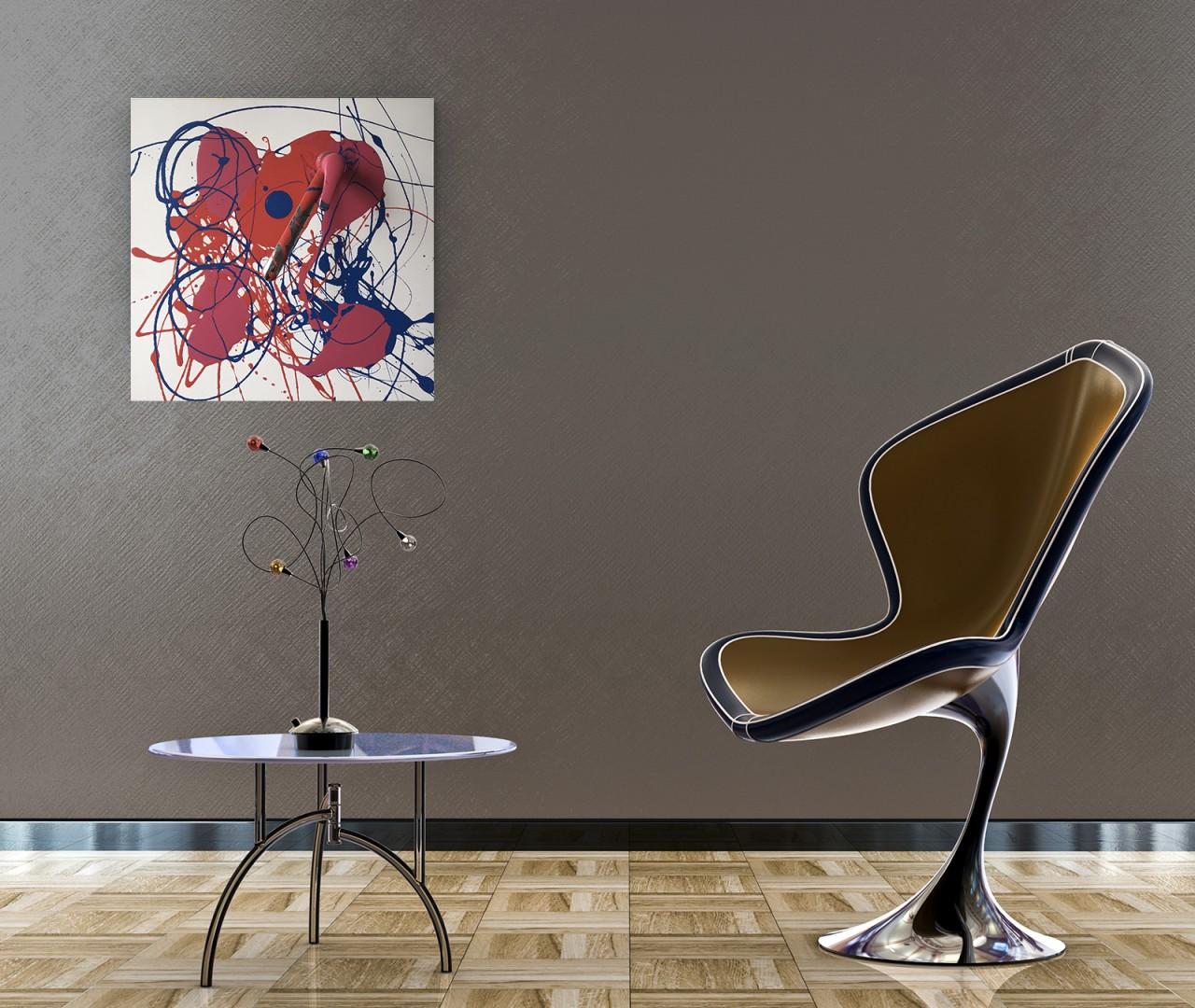 peinture couleurs paysage abstrait tableau d coration achat en ligne. Black Bedroom Furniture Sets. Home Design Ideas